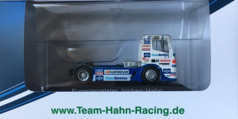 Racetruck Model H0 - 1:87 European Champion 2011